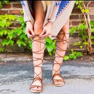 NWOT Christian Siriano Gladiator Sandals Size 6